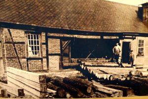 Schneidemühle Oberzella ca. 1920