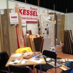 unser Messestand in Suhl