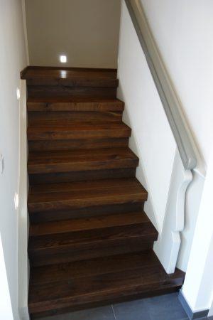 Treppenanlage mit Parkett