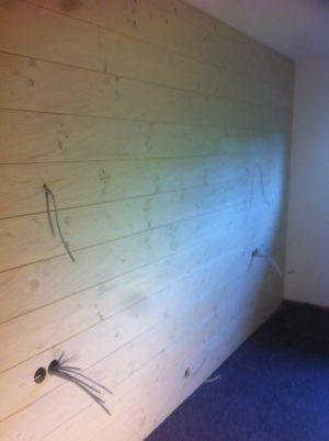besondere Wandblicke - gehackte Wand