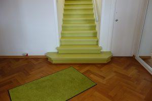 Villa-Umbau mit Parkettsanierung & Treppensanierung