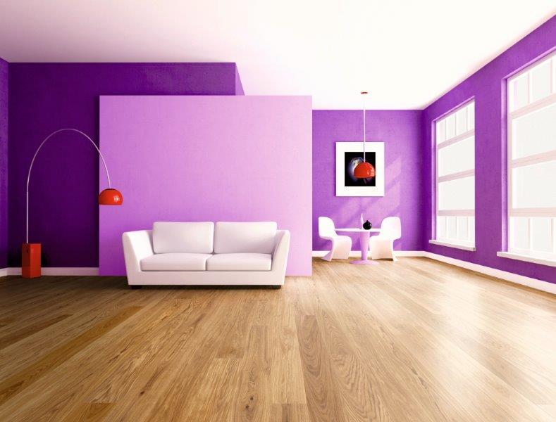 2018 wird Ultra Violet – Eine Farbe, die perfekt zu allen Holzoberflächen passt