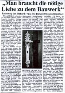 Bundespreis Denkmalpflege Thüringen