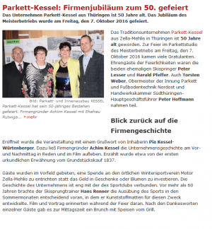 """Fachzeitschrift: """"Boden-Wand-Decke"""" berichtet über unser 50. Jubiläum"""