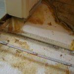 Wasserschaden defekter Unterboden