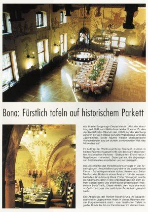 Presse: Parkett-Magazin 2002 (Ausgabe 3/2002)