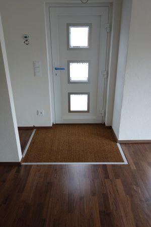 Lösung des Eingangsbereiches: Hereinspaziert!
