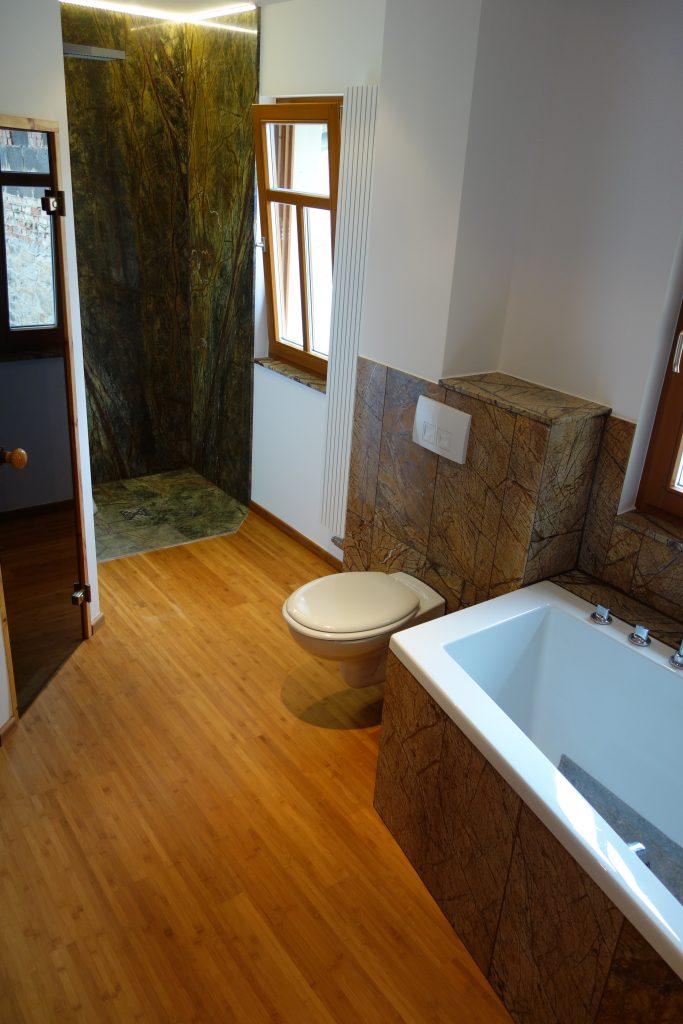 Badezimmer mit Bambus Parkett 22. Weihnachtstipp