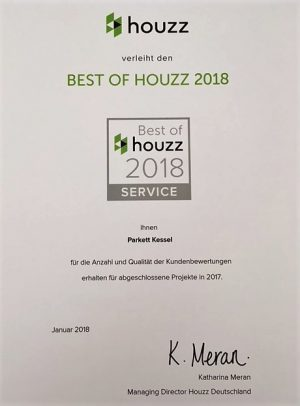 Best of Houzz Award 2018