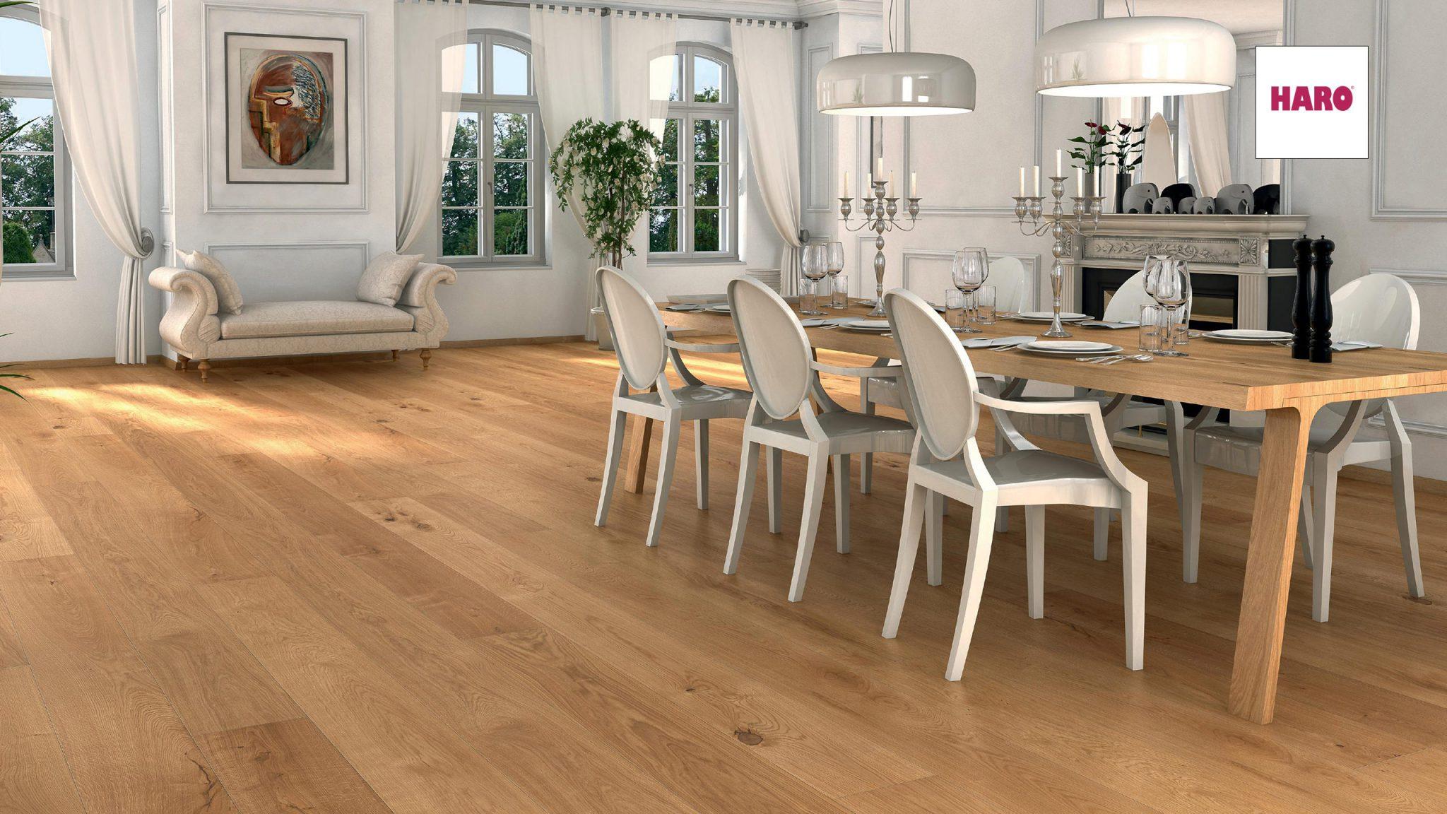 """Das 1×1 der Bodengestaltung """"Wie Ihr Holzboden Ihren Raum erstrahlen lässt"""""""