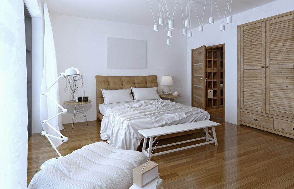 So entsteht das Schlafzimmer: ein effektiver Blick in die Raumgestaltung